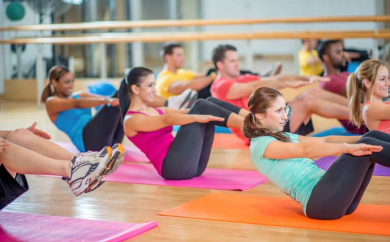 Fitness classes in Rohini
